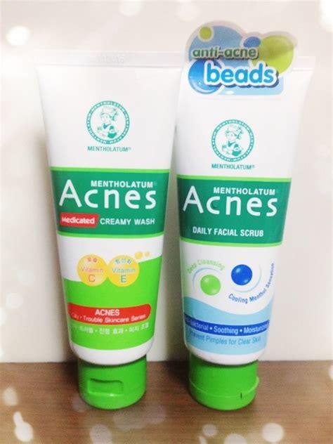 Sabun Acnes sponsored review mentholatum s new acnes daily scrub enabalista