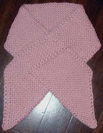knitting pattern ribbon scarf free knitting patterns breast cancer dishcloth very