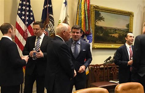 elon musk meeting elon musk seen at the white house on president trump s