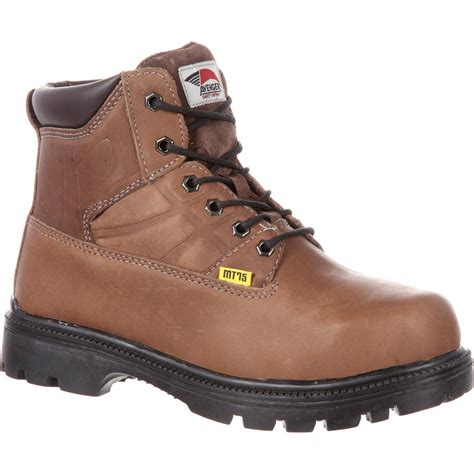 steel toe boots with metatarsal guard avenger steel toe metatarsal guard work boot a7302