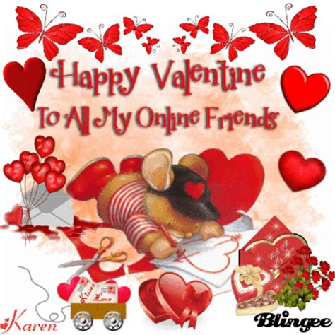 happy valentines to my friends to all my friends picture 107192384 blingee