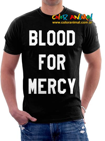 Hoodie Blood For Mercy 01 remeras color animal remeras yellow claw cesqeaux lny tnz
