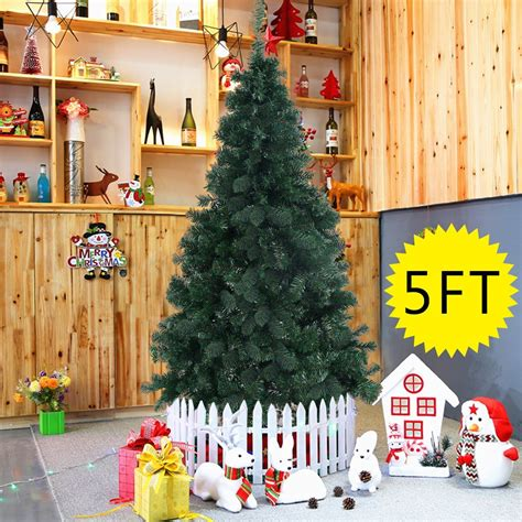 hot christmas tree w stand 5 feet only 18 99 free