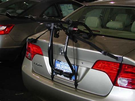 Honda Civic Bike Rack by Will The Yakima Superjoe 2 Bike Trunk Mount Bike Rack Fit