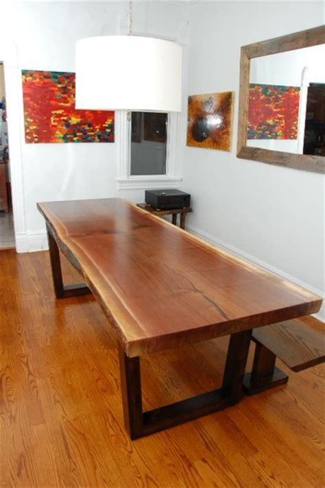Modern Dining Table Toronto Live Edge Tables Toronto Ontario Contemporary Dining