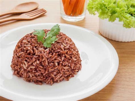Beras Organik Untuk Diet Beras Merah tips memasak nasi merah agar empuk kabarkuliner