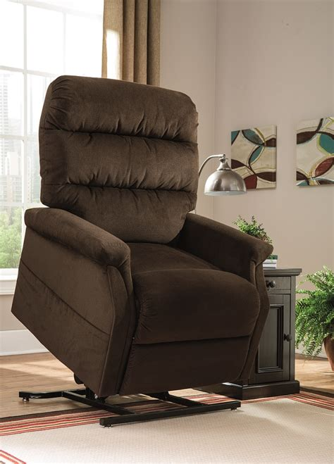 power recliners canada ashley recliners canada the brenyth power life recliner
