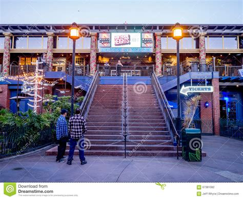 house of blues downtown disney house of blues bar at downtown disney editorial photography image 67381082