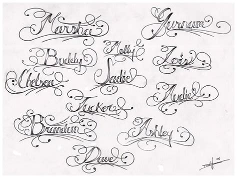 tattoos designs names cursive collection of 25 lettering