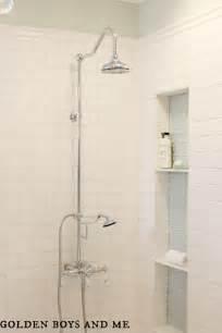 Beadboard Home Depot - golden boys and me master bathroom pedestal tub white