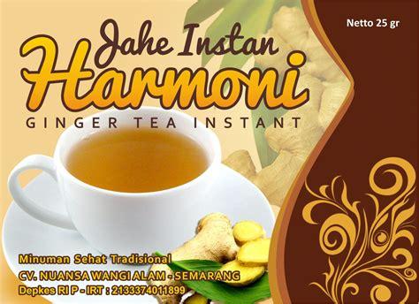 desain kemasan jahe instan sribu desain label desain label untuk minuman herbal kese