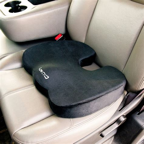 the most comfortable car seats for driver cush cushion the world s most comfortable seat cushion