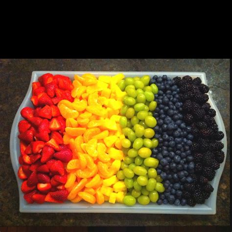 fruit rainbow rainbow fruit tray rainbow theme