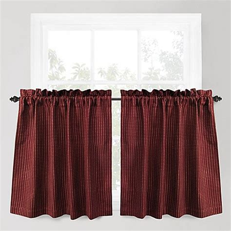 curtains for 36 inch window buy park b smith cortina 36 inch window curtain tier pair