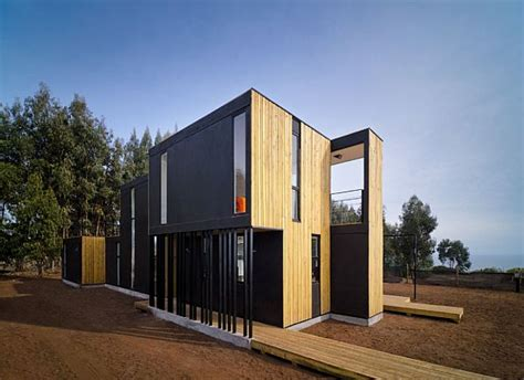 modular house modular house in chile made from insulated panels