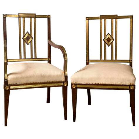 Century Furniture Dining Chairs Set Of Eleven 19th Century Russian Neoclassical Dining Chairs At 1stdibs