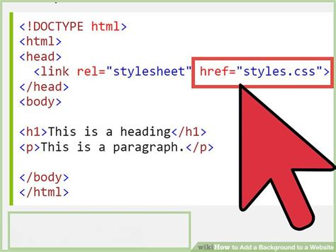 how to add background image in html how to add a background to a website 14 steps with pictures