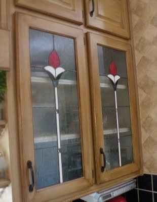 Stained Glass Kitchen Cabinet Doors Kitchen Cabinet Doors With Stained Glass Stained Glass Pinterest