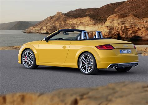 Audi Tts Convertible by 2015 Audi Tt And Tts Roadster Revealed Convertible In 10