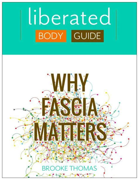 why matters book book review quot why fascia matters quot by