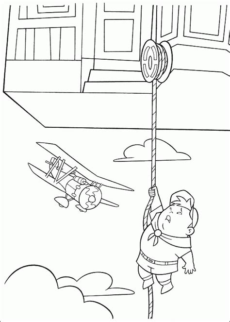 up house coloring page pixar up house coloring pages