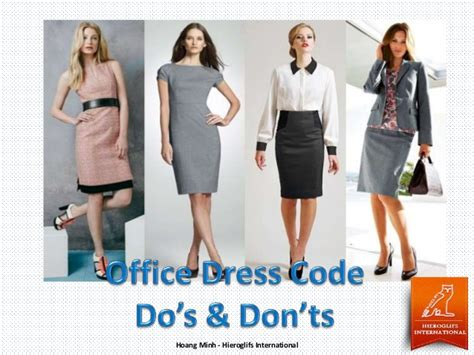 Office Dress Code by Office Dress Code Do S And Don Ts