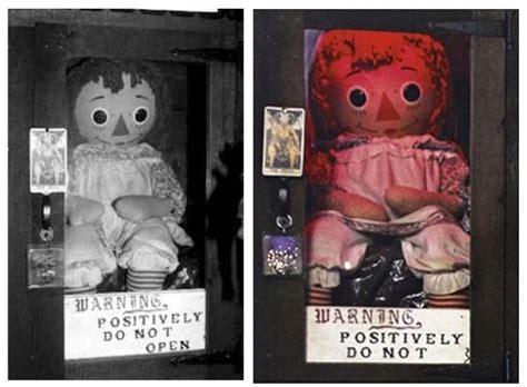 annabelle doll warrens occult museum position ed and lorraine warren s occult museum true paranormal