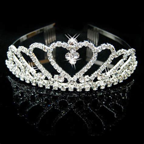 wedding tiaras and crowns wedding bridal crystal rhinestone headband crown comb