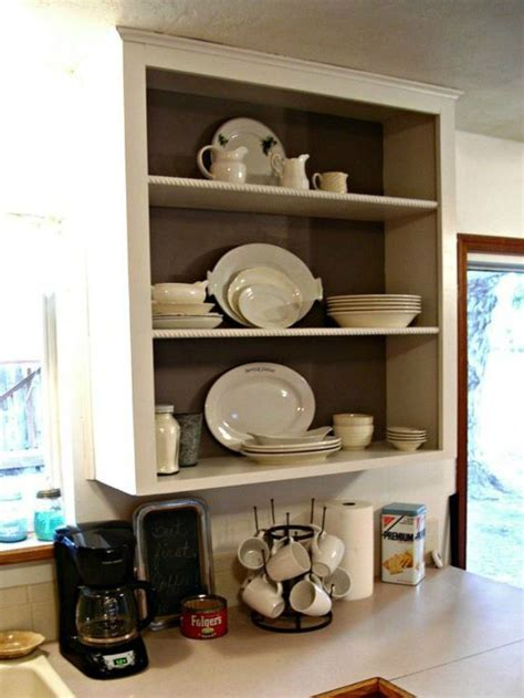 kitchen shelving ideas in bination with open and closed 15 clever ways to add more kitchen storage space with open