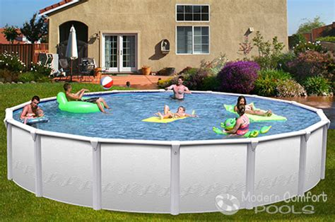 modern comfort pools modern comfort pools swim n play above ground pools for