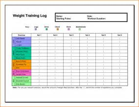 Excel Workout Template by 6 Excel Workout Templatememo Templates Word Memo
