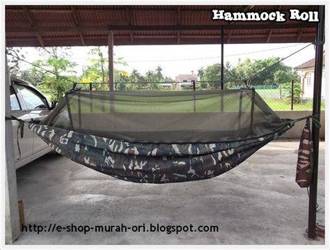 Ready Kelambu Nyamuk Lipat Ori Untuk Tempat Tidur Kl99 180 X 200cm e shop macam macam adaaaa hammock roll tempat tidur gantung jenis gulung