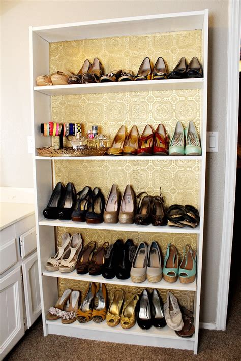 how to organize your shoes clutter