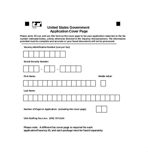 format templates gov blank cover sheet 10 free word pdf documents