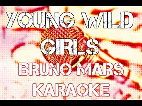 download mp3 bruno mars young wild girl bruno mars young wild girls karaoke instrumental cover