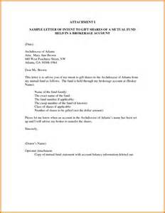 Business Letter Attachment Sample attachment i sample letter of intent to gift shares by morgossi7a8