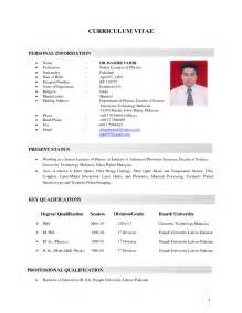 Good Resume Example Malaysia Example Good Resume