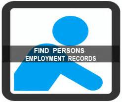 Search Peoples Records Find Persons Employment Records