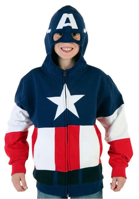 Hoodie Anak Anak Captain America youth captain america hoodie