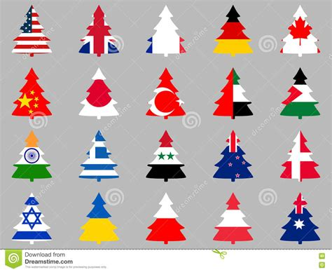 world flags collection on white vector illustration