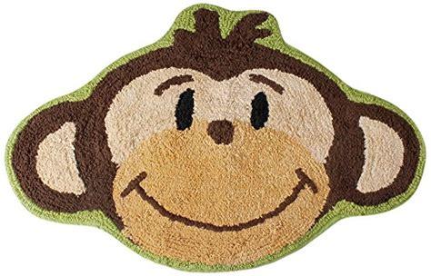 monkey bath rug jungle bathroom decor
