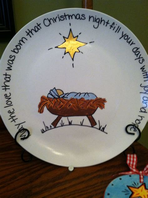 ideas for christmas plate designs best 25 painted plates ideas on sharpie plates painting pottery plates and