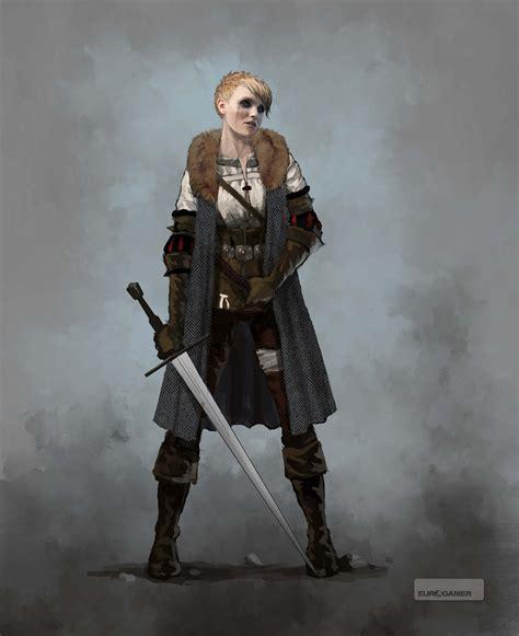Ciri Baju Dc Original ciri early concept 5 by scratcherpen aes original characters krigare och