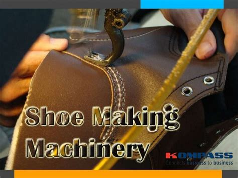 shoe machinery