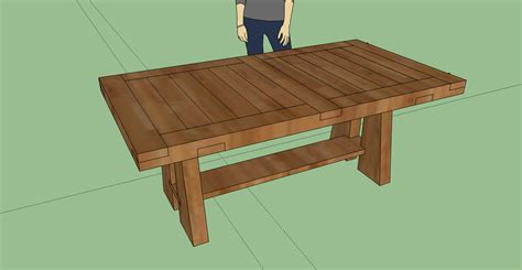 pdf diy diy kitchen table plans download plan to build a