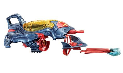 superman of steel flight speeders deluxe strike ship