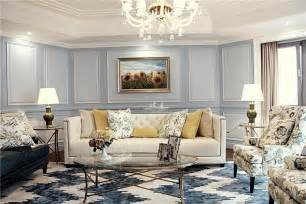 Elegant Living Room by The Elegant Living Room European Style Home Design2