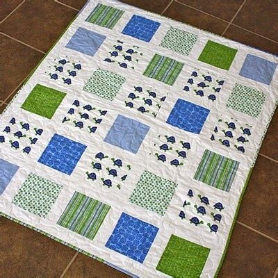 Basic Baby Quilt by Simple Baby Quilt Quilting