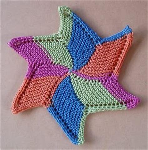 knitted starfish pattern starfish cloth knitting bee