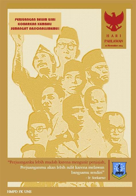 hasil gambar  hari pahlawan poster poster poster